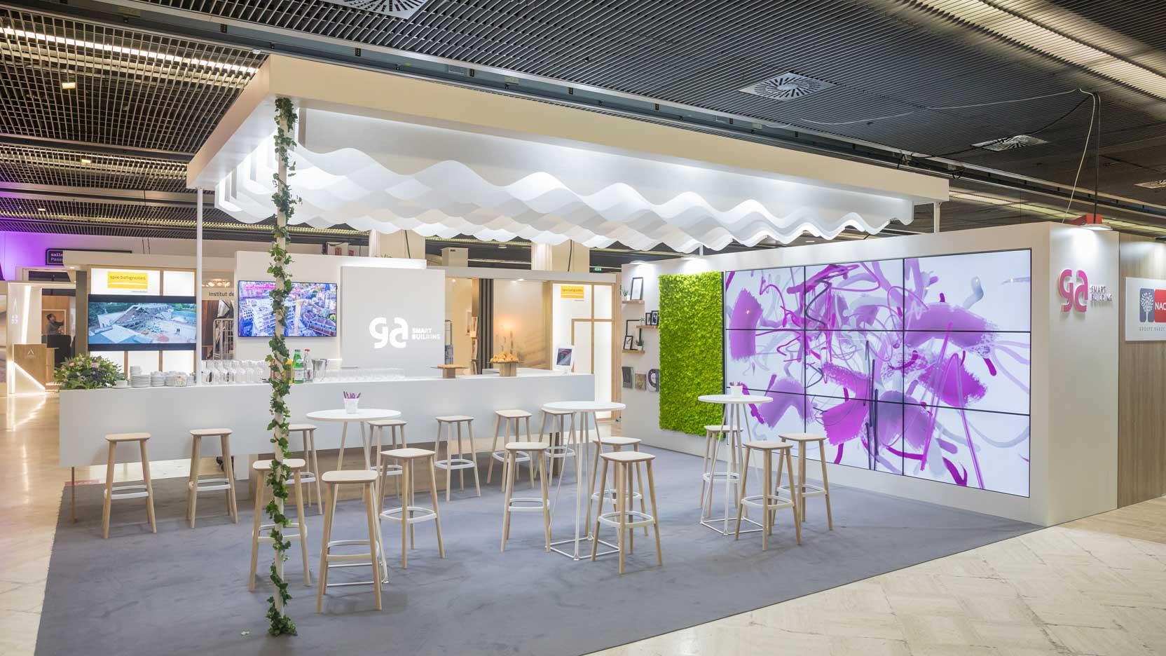 Venez échanger avec GA Smart Building à l'occasion du SIMI 2019, stand D71 – Hall Passy – Niveau I