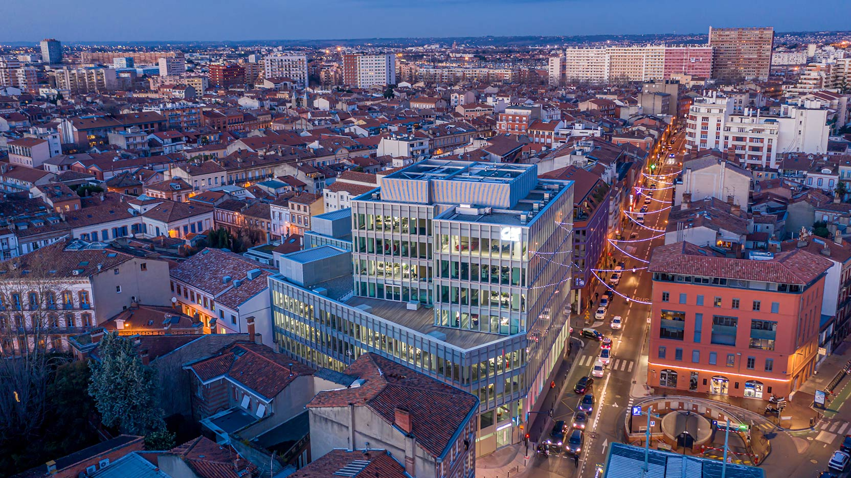 GA Smart Building has delivered the head office for Crédit Agricole Toulouse