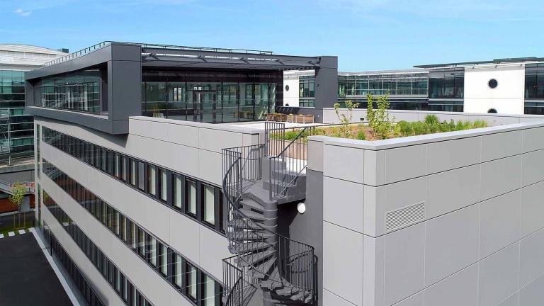 GA Smart Building rénove l'immeuble 115 Arche à Courbevoie pour le compte de AEW Ciloger