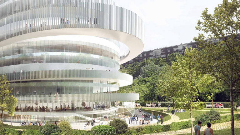 Cité Universelle in Paris, 30,000 m² of space emblematic of universal accessibility