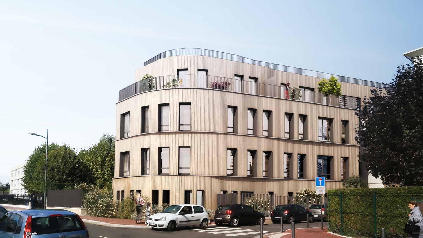 17 eco-friendly apartments in Enghien-les-Bains