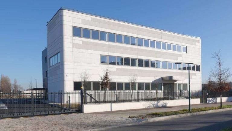 L'immeuble d'entreprise Audika à Gennevilliers