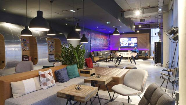 GA Smart Building a réalisé un Moxy Hotels nouvelle génération à Roissy Charles de Gaulle