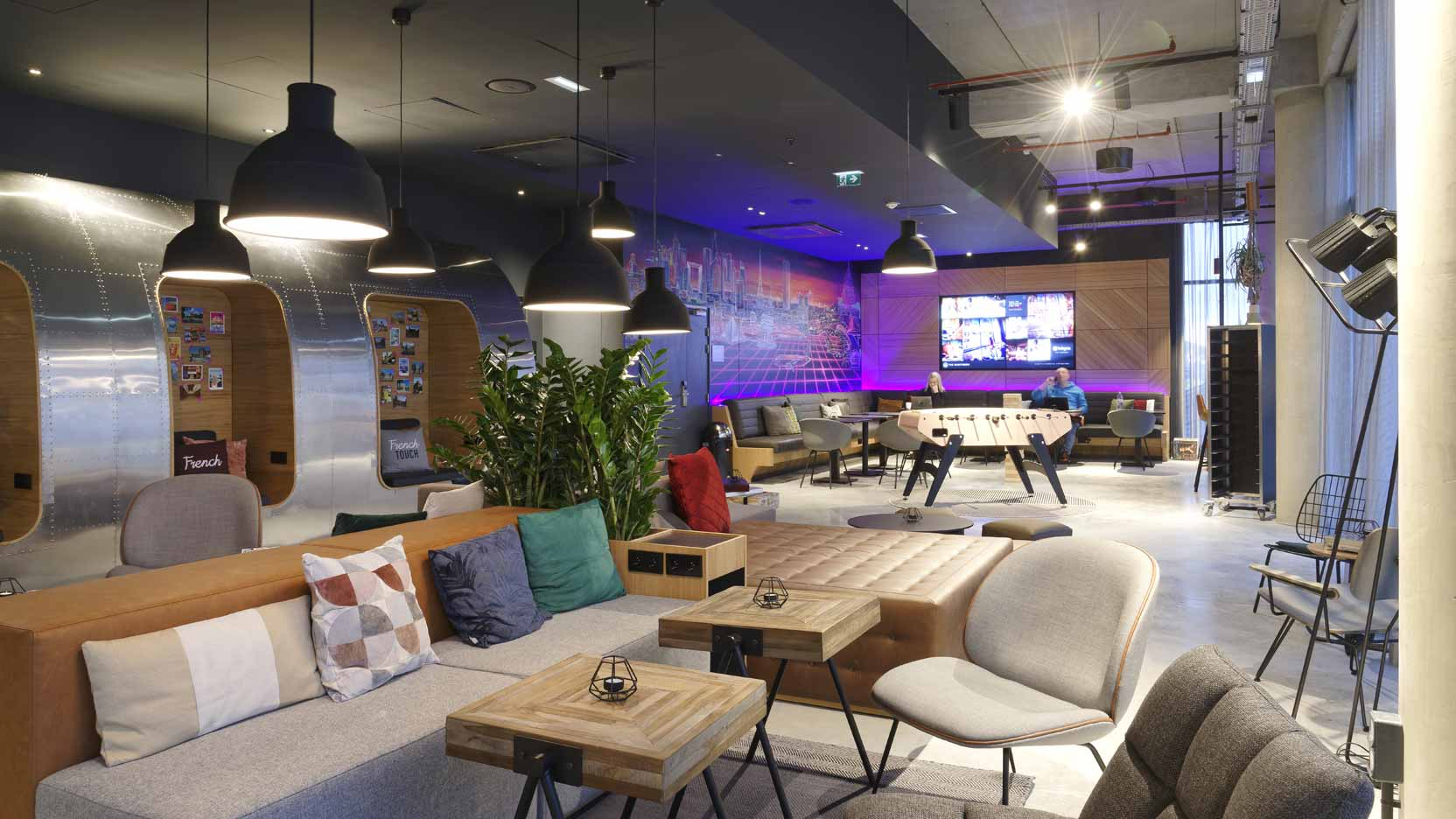 GA Smart Building has built a next-generation Moxy hotel at Roissy Charles de Gaulle airport