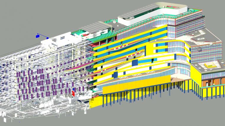 L'immeuble de bureaux Safran à Malakoff que nous réalisons avec Batipart, Prix du meilleur projet BIM aux Tekla BIM Awards France 2020 !