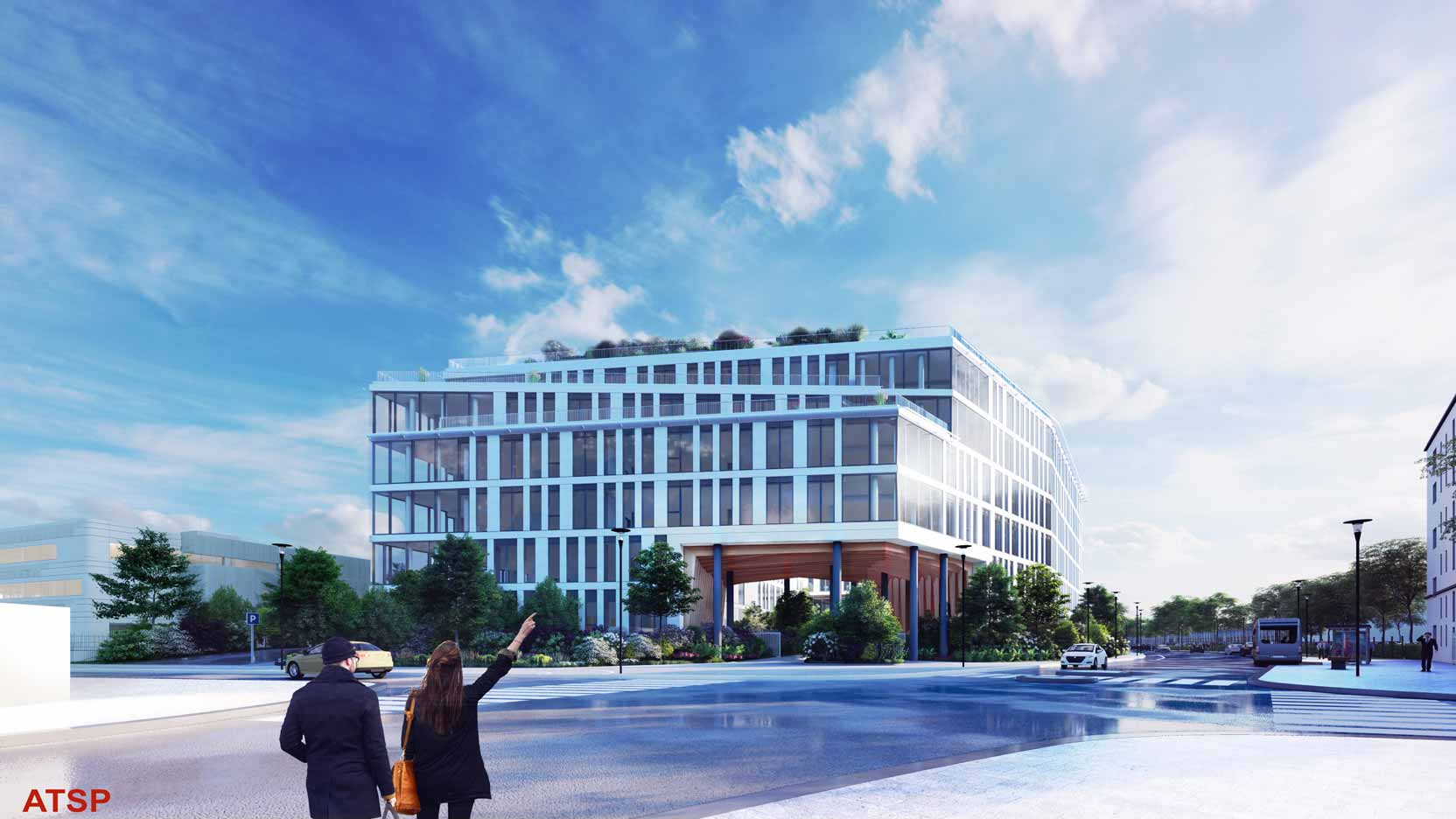 BNP Paribas Immobilier and GA Smart Building to build the future headquarters of the UP Group in Gennevilliers (92)