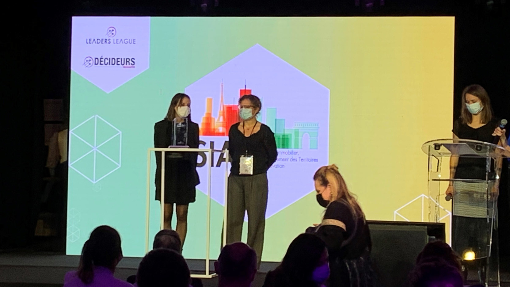 La Cité Universelle receives the award for most innovative operation at SIATI 2020!