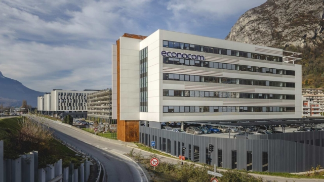 In Grenoble, a property complex for Econocom in the heart of Parc Oxford