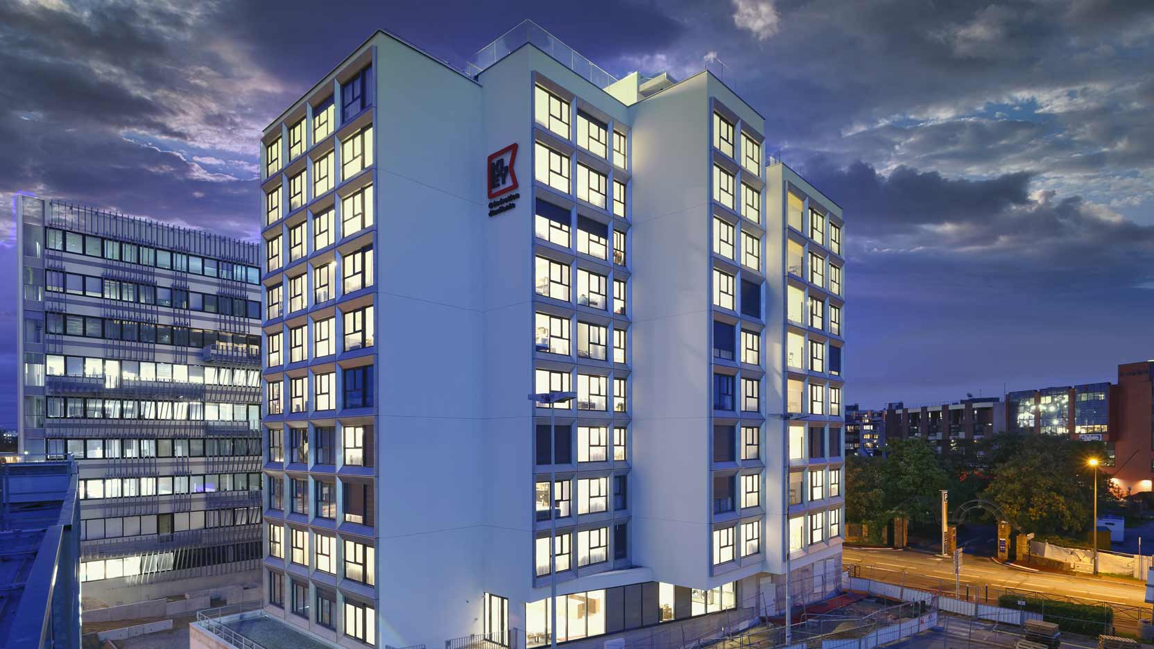 GA Smart Building delivers Gymnote II, a new-generation student residence for Kley in Cergy (95)