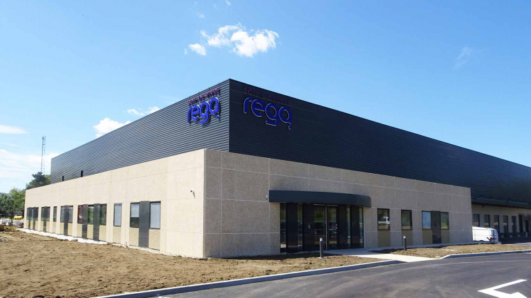 In the Grand-Est, a mixed tertiary and industrial property complex for REGA