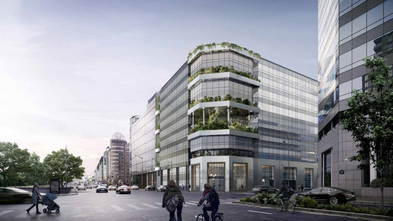 Rénovation de l'immeuble de bureaux Gravity dans le 14ème arrondissement : la nature aux portes de Paris