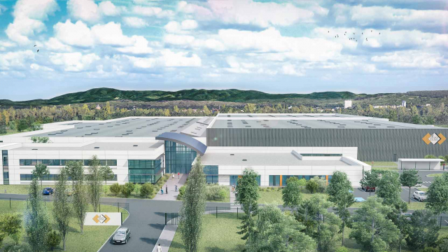 In Hésingue (68), a mixed business and tertiary industrial complex of 40,000 m² for SES-STERLING