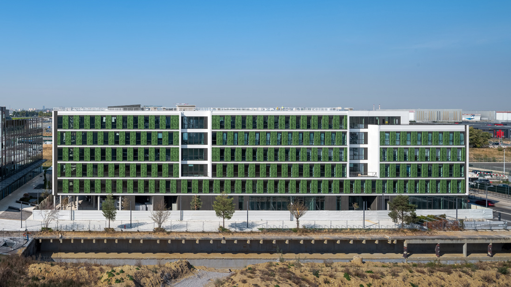 L'immeuble Belaïa de 23 500 m² à Cœur d'Orly est livré !