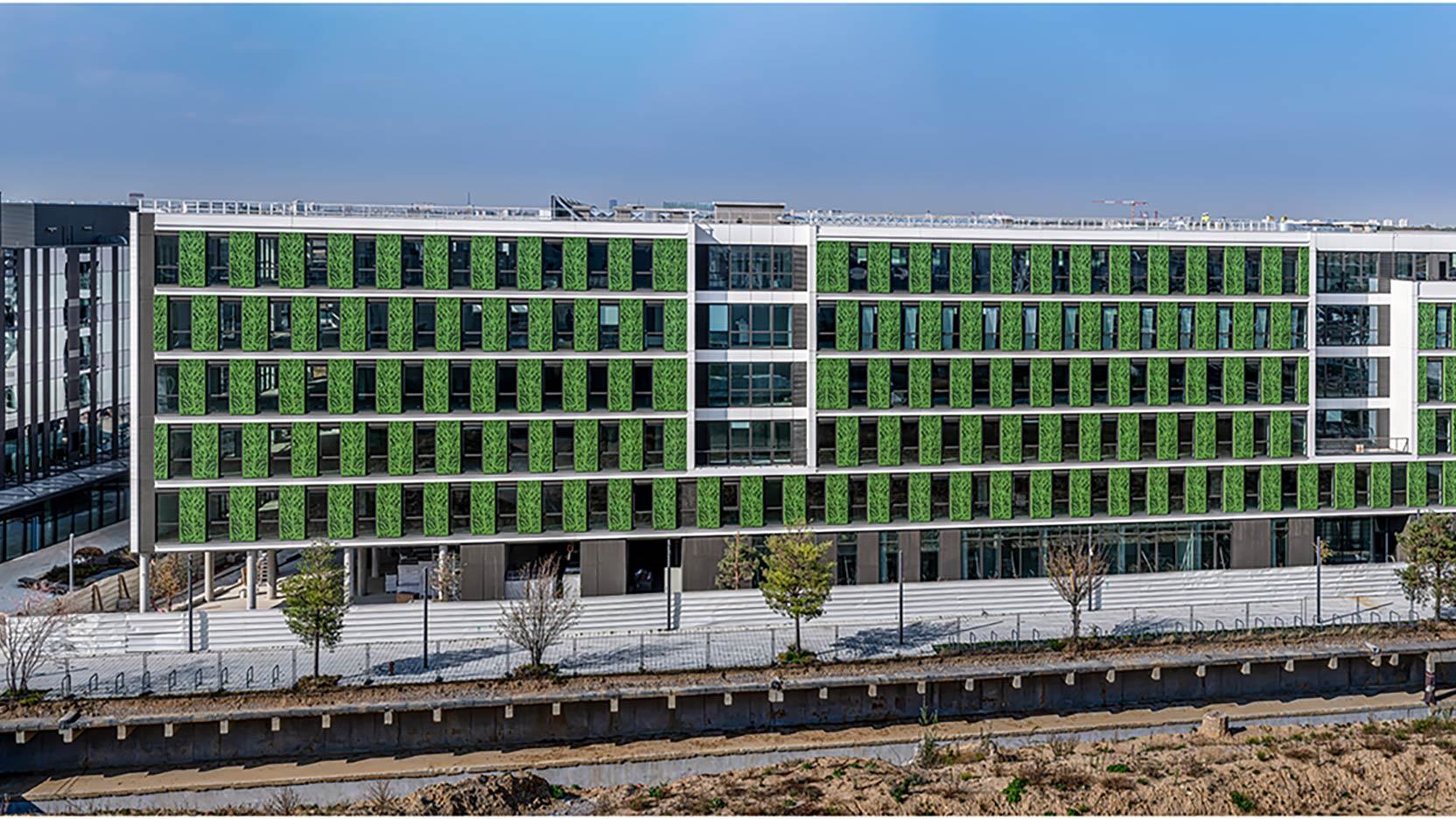 The Belaïa building of 23,500 m² in Cœur d'Orly has been delivered!
