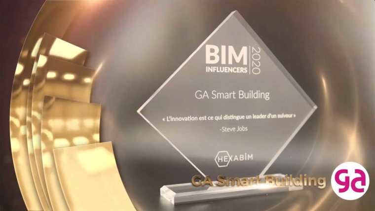 We were voted BIM Influencer 2020 at the annual HEXABIM awards!