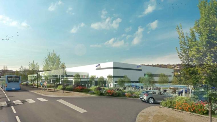 Nous réalisons un ensemble immobilier de 22 000 m² pour Aktya dans la région du Grand Besançon à Temis Besançon