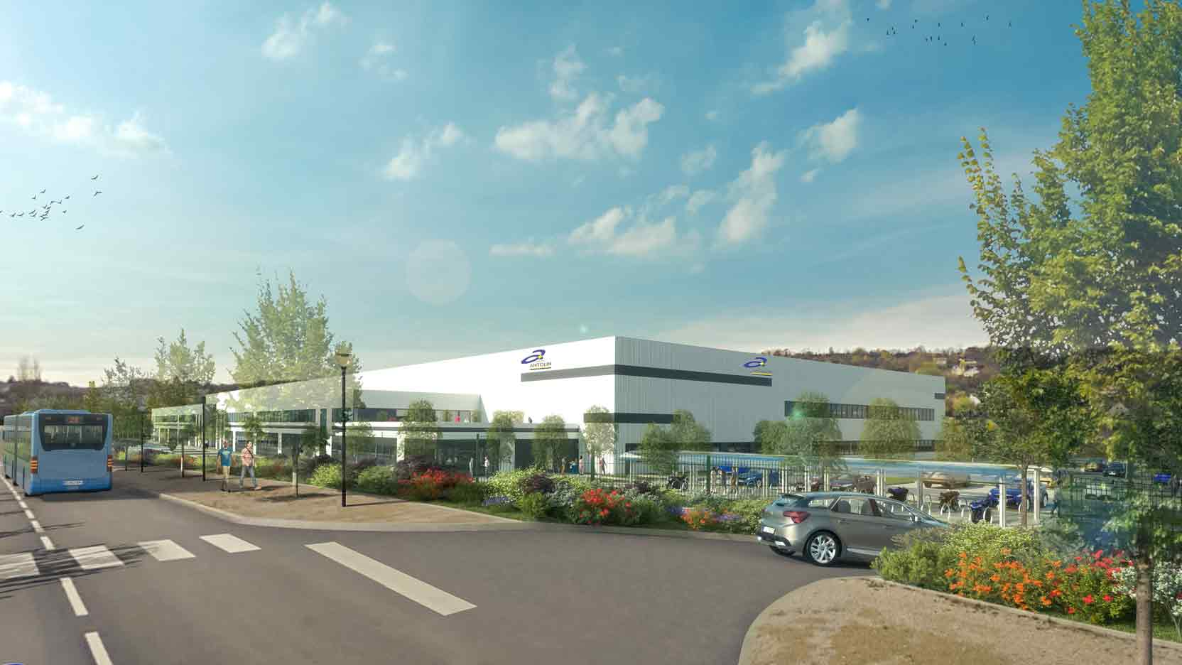 We are building a 22,000 m² property complex for Aktya in the Grand Besançon region of Temis Besançon