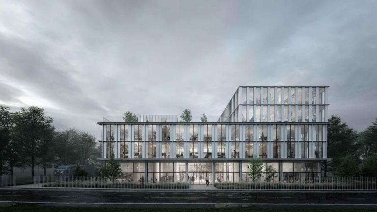A Gennevilliers, un immeuble de bureaux et d'activités pour le Groupe familial Balas