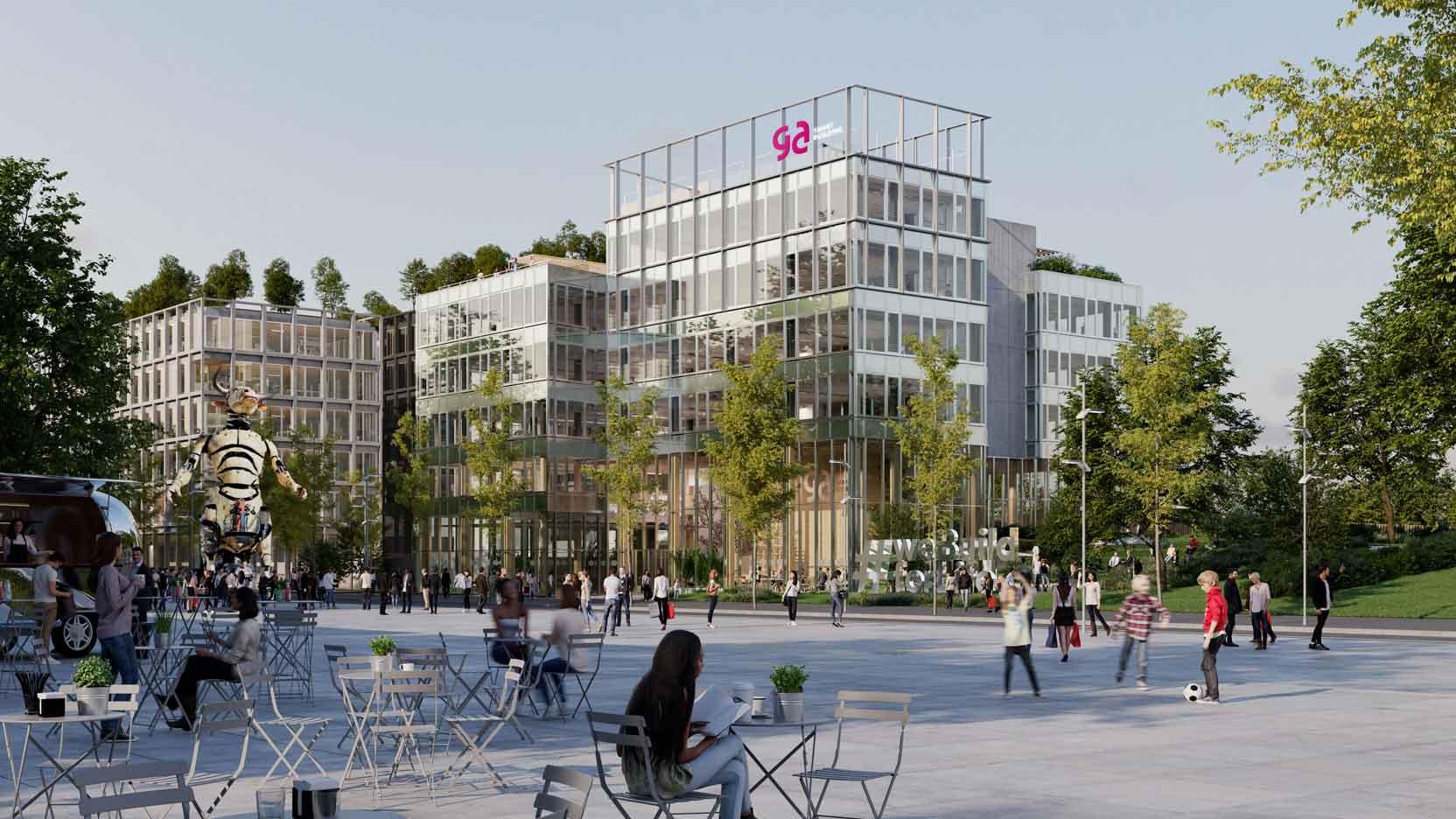 GA Smart Building dévoile son futur siège social et lance une nouvelle génération d'immeuble qui répond aux attentes d'un monde post-Covid et post-Carbone