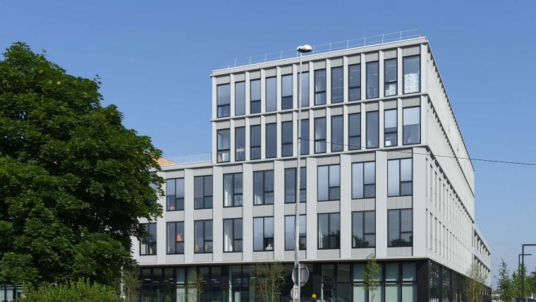 Le Groupe Balas inaugure Olympe, son nouveau siège social réalisé par GA Smart Building à Gennevilliers (92)